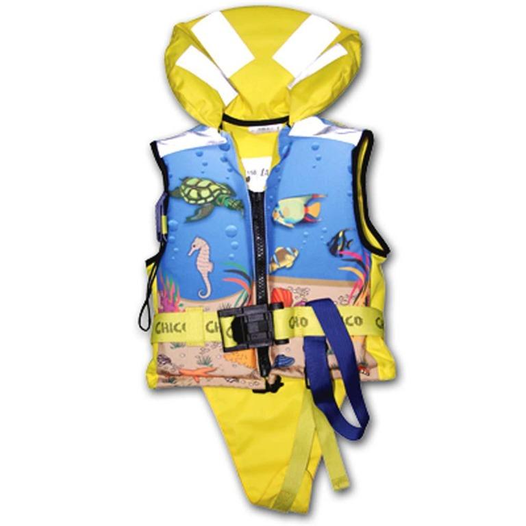 Kamizelka ratunkowa dzięcieca CHICO ISO 150N (kamizelka ratunkowa dla dzieci, niemowląt)