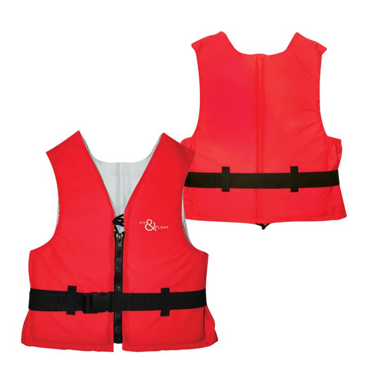 Lalizas Fit & Float kamizelka asekuracyjna czerwona