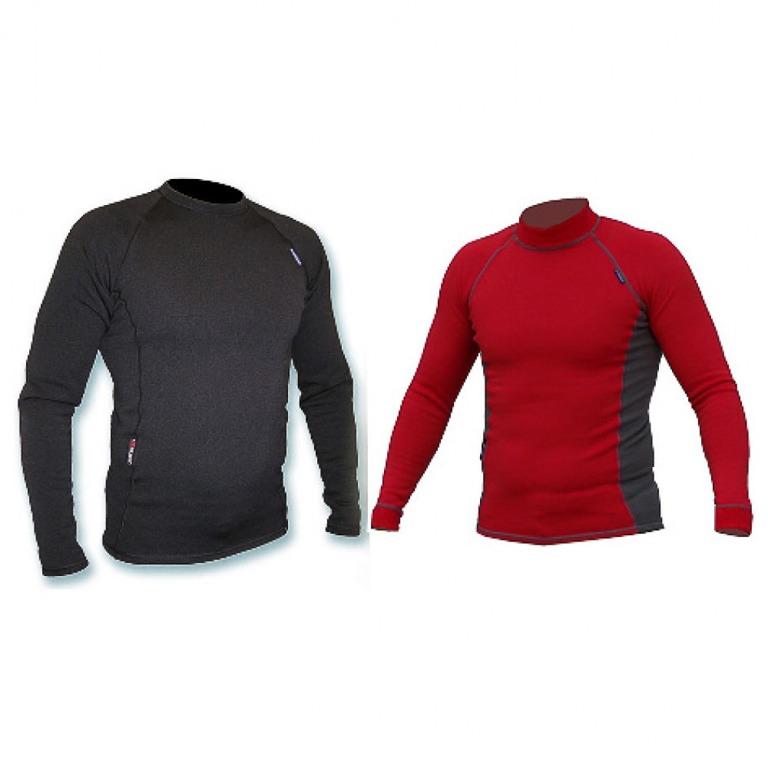 Bluzka ORDANA x-warm Power Stretch PRO - czerwony